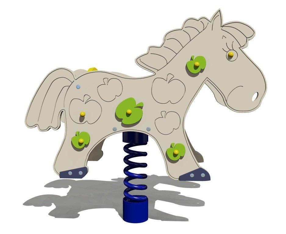 Качалка на пружине «Конь»