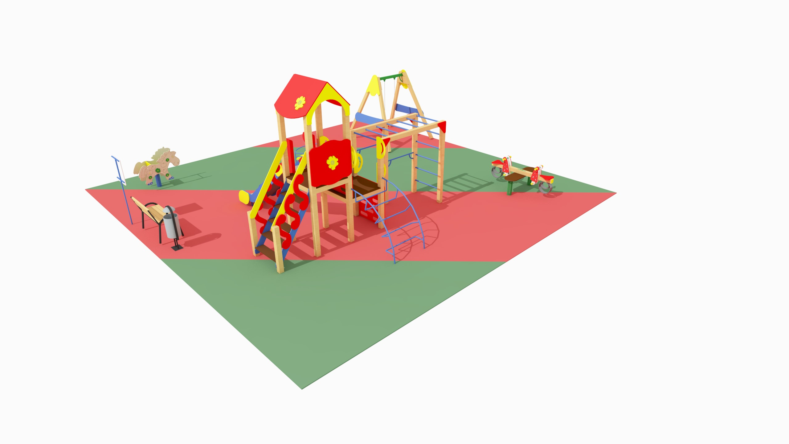 Детская игровая площадка №1 (10x10)