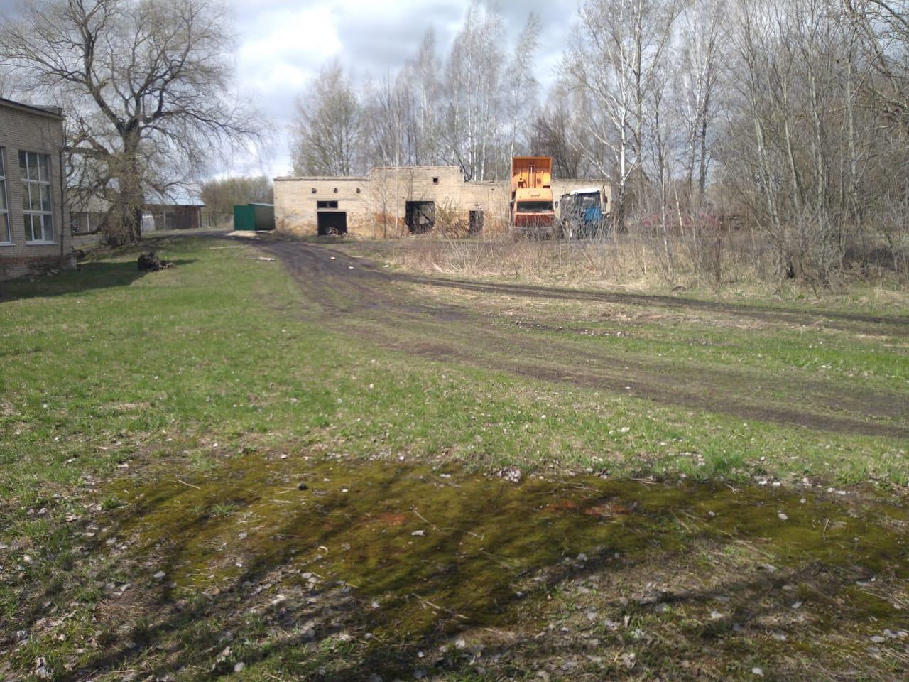 Обустройство спортивной площадки в д. Борозденки Веневского района
