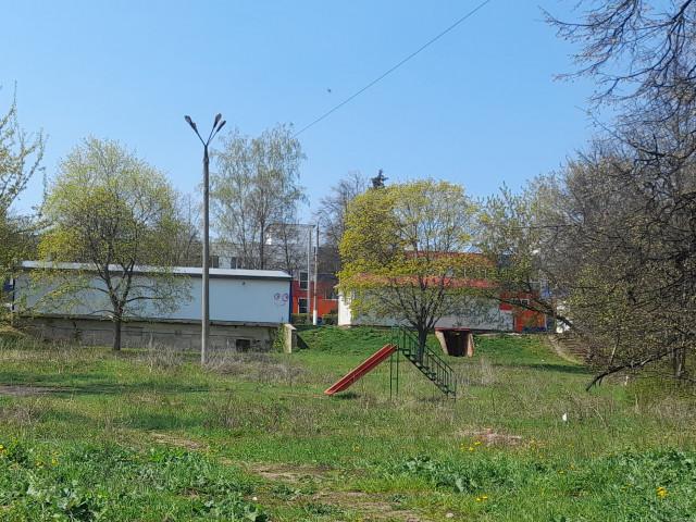 Обустройство детской игровой площадки в городе Богородицк, Западный микрорайон. Богородицкий район